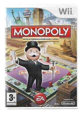 Monopoly de Nintendo Wii 2 (PAL) (Nuevo y Precintado)