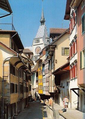 Alte Postkarte - Zug - Altstadt
