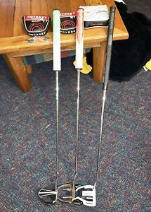 Taylormade and Odyssey Putters