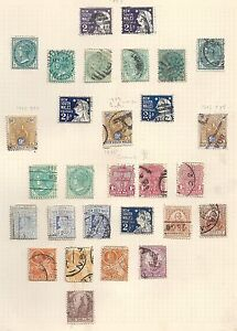 New-South-Wales-collection-of-29-CLASSIC-stamps-HIGH-VALUE