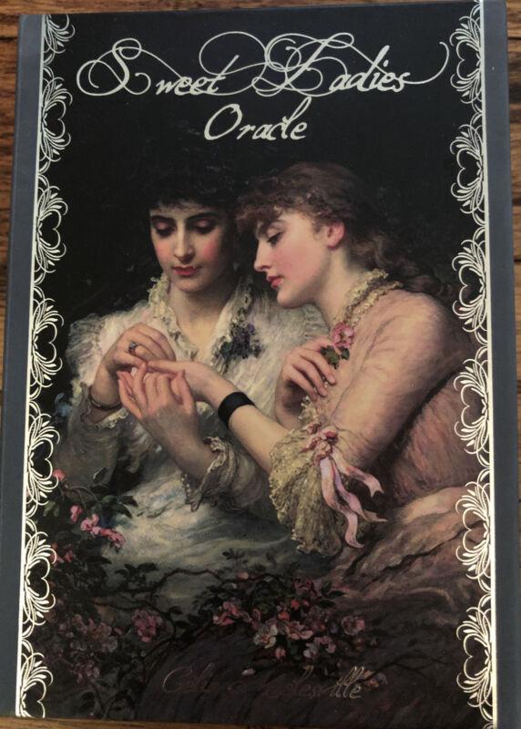 Sweet Ladies Oracle Fine Art Indie Deck HTF Limited First Edition