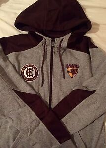 Hawks AFL hooded winter jacket Woonona Wollongong Area Preview