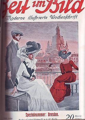 ZEIT IM BILD 1910 1-52 kompletter Jahrgang - moderne illustrierte Wochenschrift