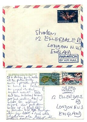 New Hebrides cover & posted PPC