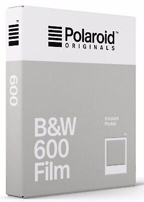 Polaroid 600  BLACK&WHITE    Film für 600er Polaroid Kameras  NEU  1 Film Black And White Kamera