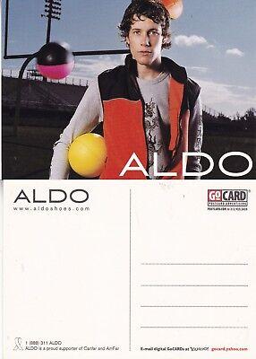 ALDO SHOES UNUSED ADVERTISING COLOUR  POSTCARD (b)