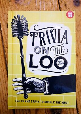 Trivia on the Loo, hardback, book, interesting facts, Christmas stocking filler ()