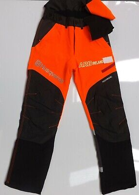 HUSQVARNA TECHNICAL CHAINSAW TROUSERS TYPE A CLASS 1