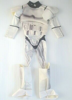 Star Wars Storm Trooper Kids Costume No Mask - Size M (8-10) - (Kid Stormtrooper Kostüme)