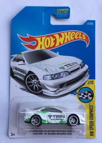 Hot Wheels Acura Honda Integra GSR GS-R DC2 Spec Type R S ITR Jdm DOHC vtec Oem