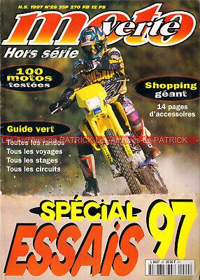 Moto verte hs 29 spécial essais tt 1997 cross enduro trail trial ; odyssée verte