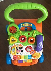 Vtech Sit-to-Stand Learning Walker. Paid $56.49....$30.00