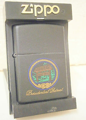 Camp David Presidential Retreat Zippo Lighter .