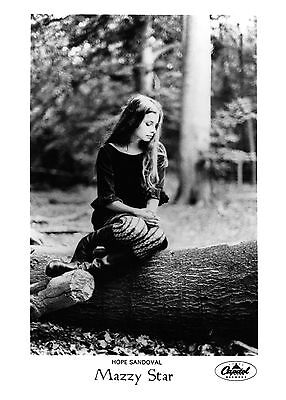 Mazzy Star - Awesome Promo Press Photo 1990s - Hope Sandoval - Among The Swan