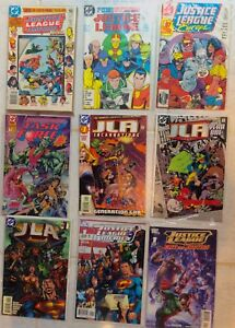 Justice League/ JLA & related DC universe dc comic books.