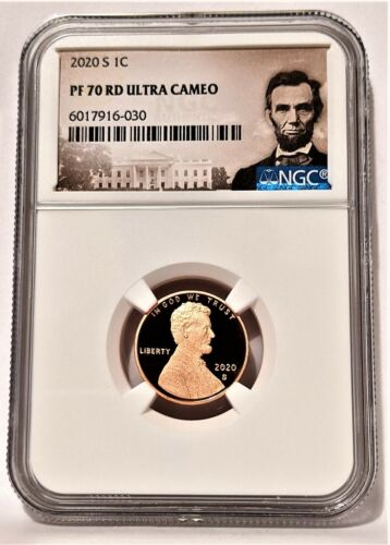 2020-S 1C LINCOLN Penny  NGC PF 70 RD Ultra Cameo -Portrait Label-