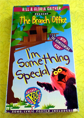 The Branch Office: I'm Something Special ~ VHS Video ~ Gaither Homecoming Kids for sale  Glen Burnie