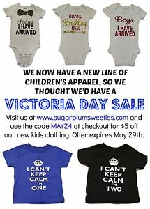 Victoria Day Sale - Children's Apparel