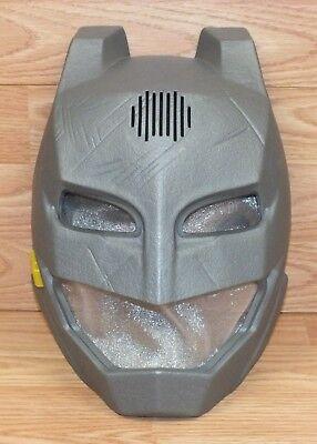 Genuine Mattel 2015 Grey Modified Batman Talking Voice Changer Toy Mask *READ*  - Voice Modifier