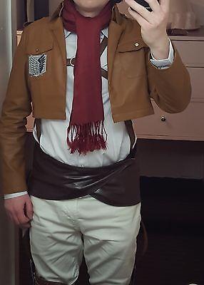 Shingeki No Kyojin Attack on Titan Mikasa Ackerman Cosplay Costume](Attack On Titan Mikasa Costume)