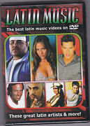 Latin Music Videos DVD