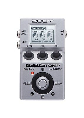 Zoom MS50G Multi-Effects Guitar Effect Pedal with free pick! for sale  Shipping to South Africa