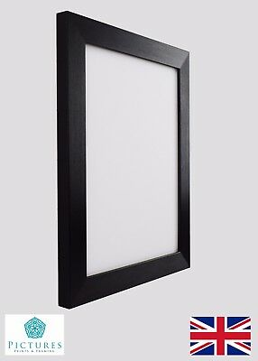 """Black Photo Picture Poster Panoramic 28mm Frame 13x13-24x36"""""""