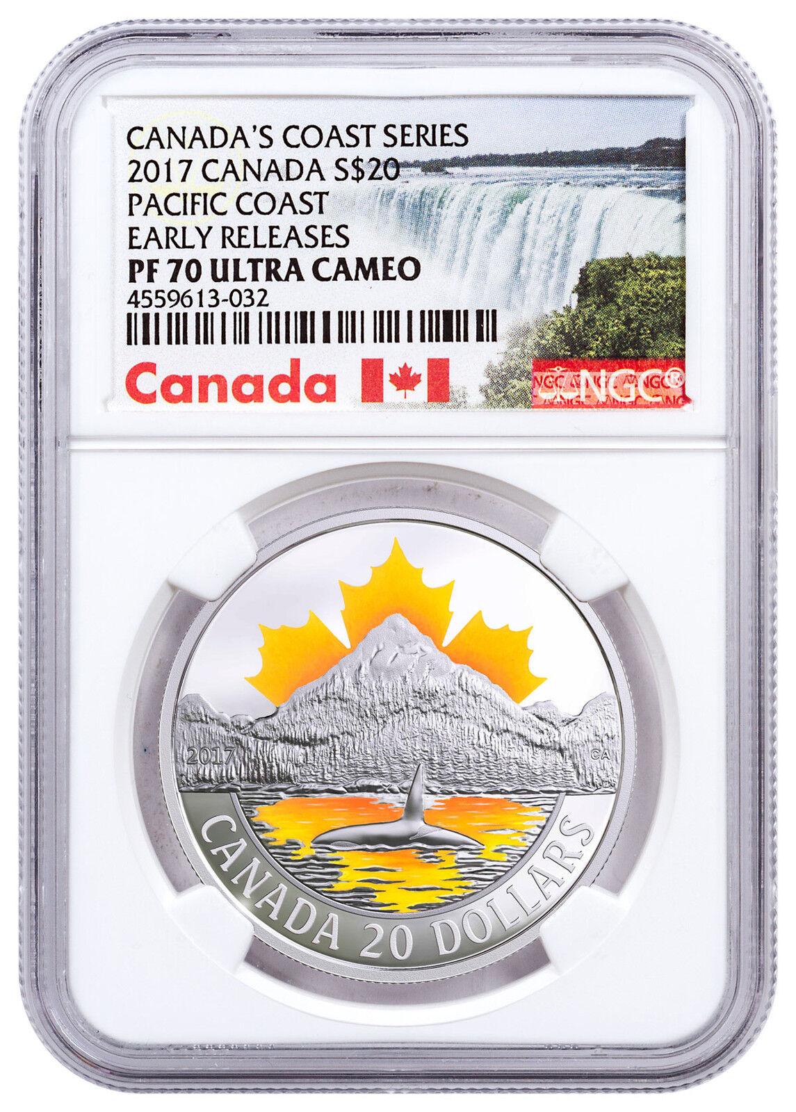2017 Canada En Plein Air Springtime Gifts 1oz Silver $20 NGC PF70 UC ER SKU47639