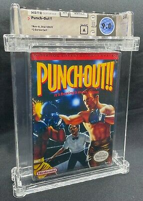 Punch-Out!! NES Nintendo Factory Sealed! WATA Graded 9.0/A
