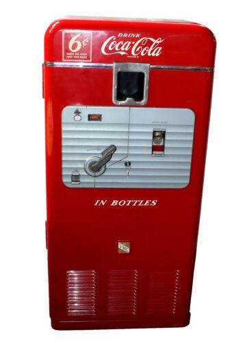 Vintage 1952 6cent Semi Restored Model 27A Coca-Cola VMC Vending Machine