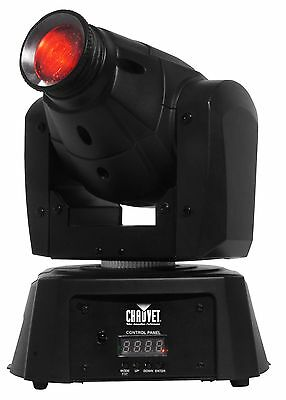 NEW! CHAUVET DJ Intimidator Spot 100 IRC 7 LED Colors & Gobos Moving Head Light