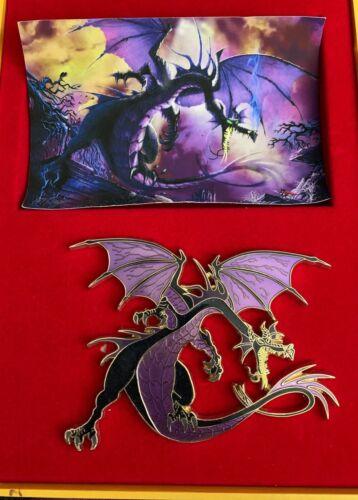 ACME Disney Sleeping Beauty Maleficent Dragon Super Jumbo LE 100 Boxed Pin