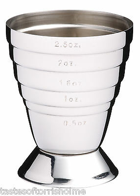 买便宜的bar craft multi level stainless shot pourer drinks spirit measure jigger cup