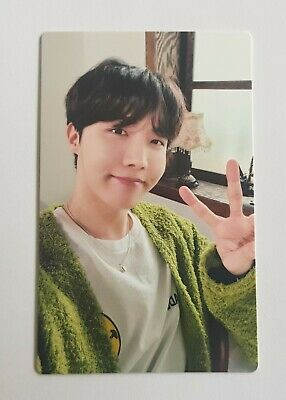 BTS BE Essential Edition Lucky Draw J-hope Photocard Free tracking number