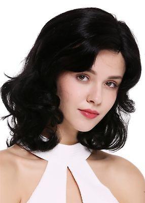 Peluca de Mujer Cabello Natural Monofilament Raya hasta los Hombros Ondulado