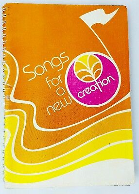 Songs For a New Creation 1982 Lutheran Contemporary Christian Songbook 149 Songs Christian Bass Guitar