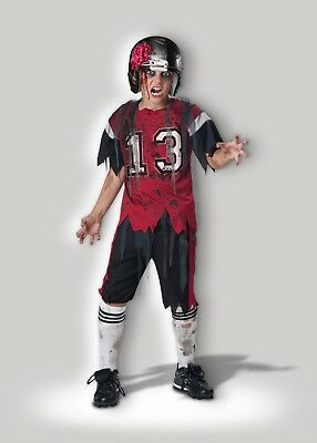InCharacter Dead Zone Zombie Football Child Boys Halloween Costume CB17052 - Boys Football Costume