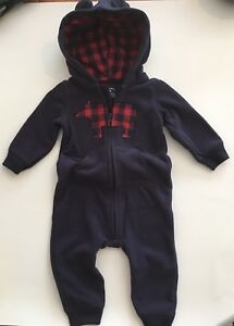 Carters 9 months fleece fall outfit
