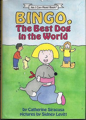 Bingo  The Best Dog In The World First Edition Hardcover  Signed   Drawing