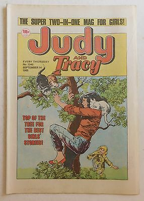 JUDY & TRACY Comic #1340 - 14th September 1985