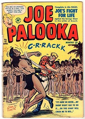 Joe Palooka #43, Very Good Condition'