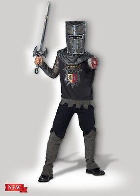Incharacter Black Knight Mittelalterlich Renaissance Kinder Halloween - Renaissance Kostüme Männlich