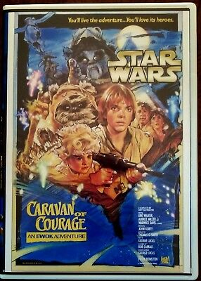 Star Wars Ewok Adventures: Caravan of Courage (DVD, 2004) Rare OOP Region Free