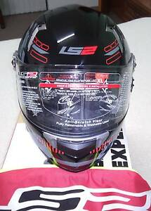 LS2 DART FT2 TRON BLACK/RED FULL FACE Balga Stirling Area Preview