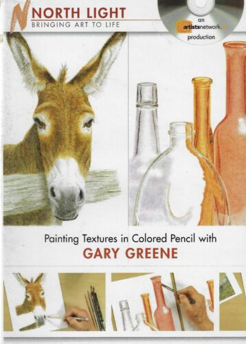 DVD - Painting Textures in Colored Pencil with Gary Greene