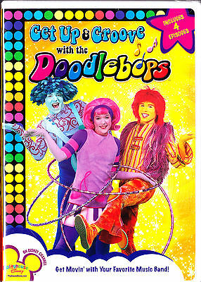 Get Up and Groove with The Doodlebops (DVD, 2007) Deedee,Roonet,Moe New - Doodle Bops