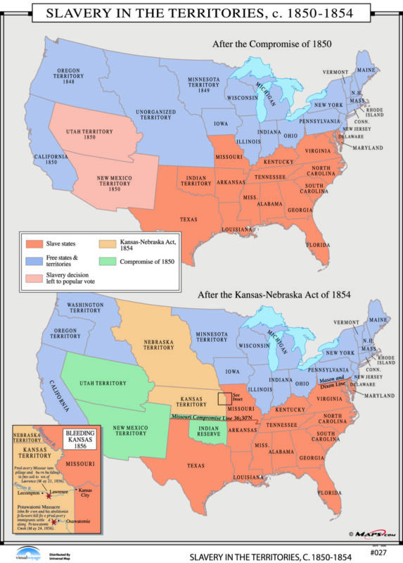 027 Slavery in the Territories, 1850-1854