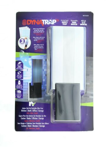DynaTrap Flylight Indoor Insect & Mosquito Trap DT3039B Dual USB & Outlets Black