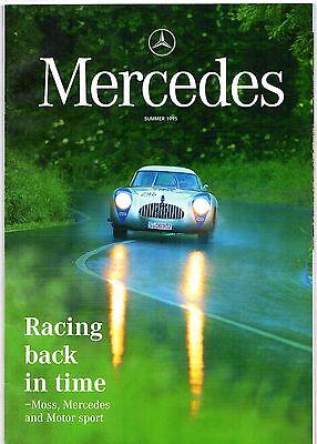 Mercedes-Benz Magazine Summer 1995 UK Market Brochure 300 SLR 190 Electro