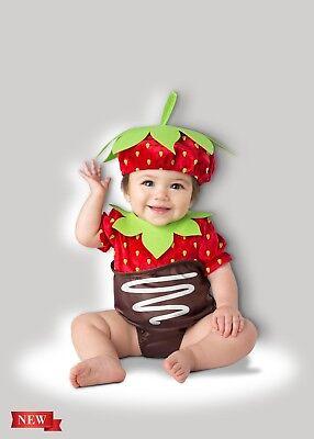 Incharacter Erdbeere Schokolade Süß Frucht Kleinkinder Baby Halloween Kostüm
